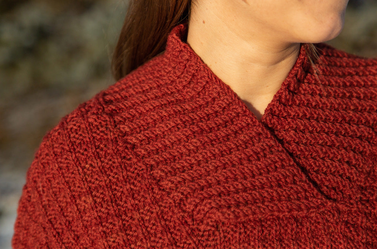 Evening Fire Pullover