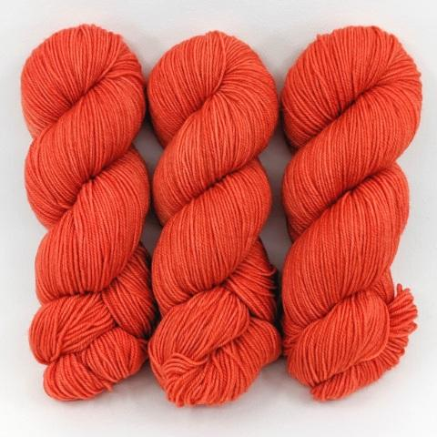 Red Coral in Worsted Weight