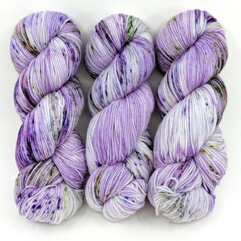 Spotted Orchid in Little Nettle Soft Fingering - Dyed Stock