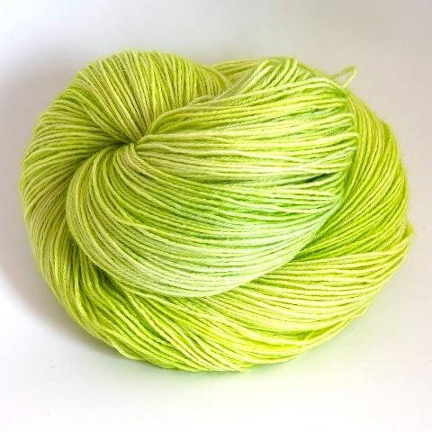 Spring Leaf in Worsted Weight