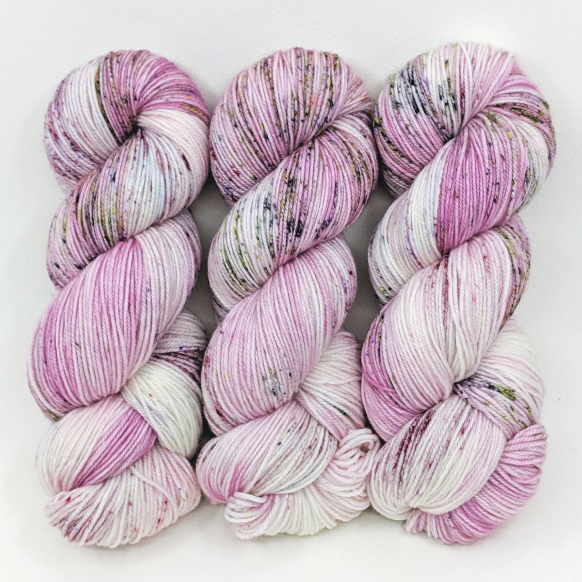 Tiny Orchid - Merino Silk Fingering - Dyed Stock