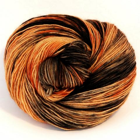 Tortoiseshell Cat - Socknado Fingering - Dyed Stock