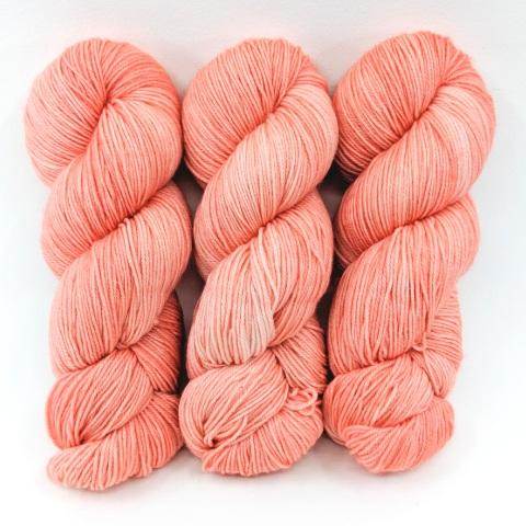 White Peach in Socknado Fingering - Dyed Stock