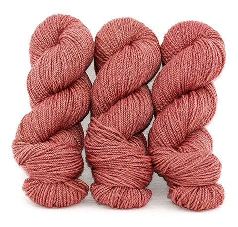 Wild Rose-Lascaux Worsted - Dyed Stock