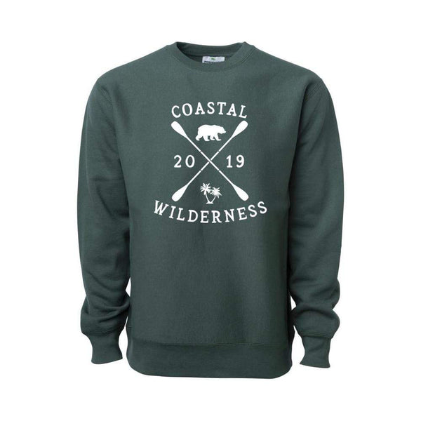 Cabin Cross Grain Crewneck - Coastal Wilderness