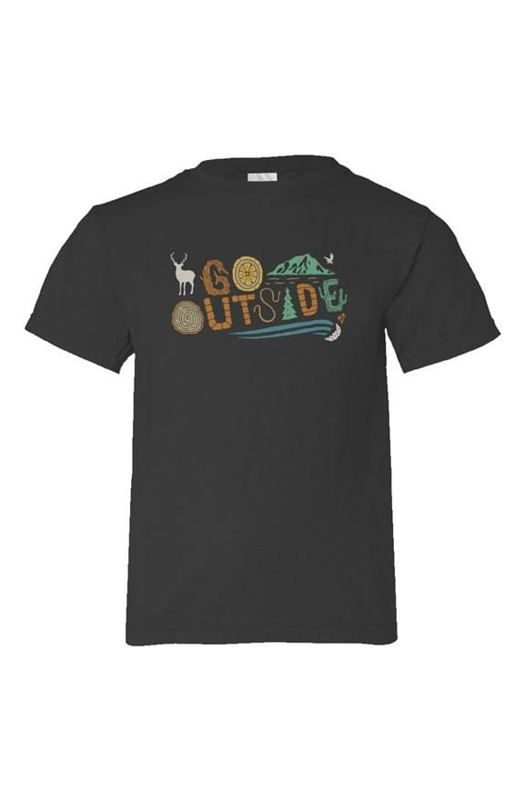 Go Outside Youth Tee - Coastal Wilderness