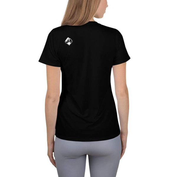 Women's Athletic Tee - Coastal Wilderness