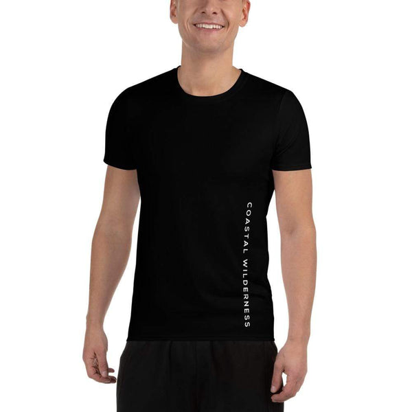 Men's Athletic Tee - Coastal Wilderness
