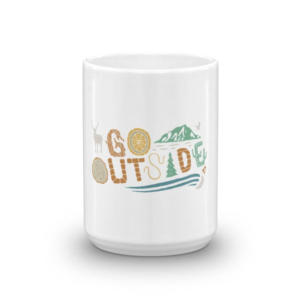 Go Outside Mug - Coastal Wilderness