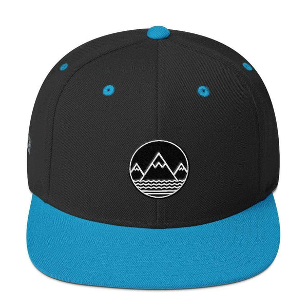 Classic Snapback Hat - Coastal Wilderness