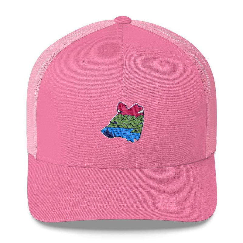 Coastal Bear Trucker Hat - Coastal Wilderness
