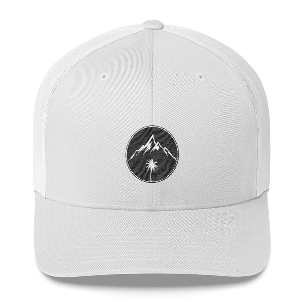Palm Mountain Trucker Cap - Coastal Wilderness
