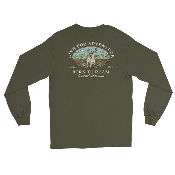 Live For Adventure Long Sleeve - Coastal Wilderness