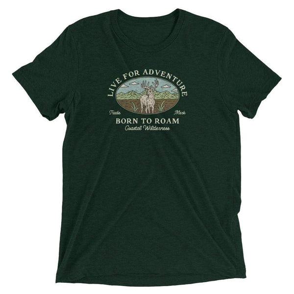 Born To Roam Tee - Coastal Wilderness