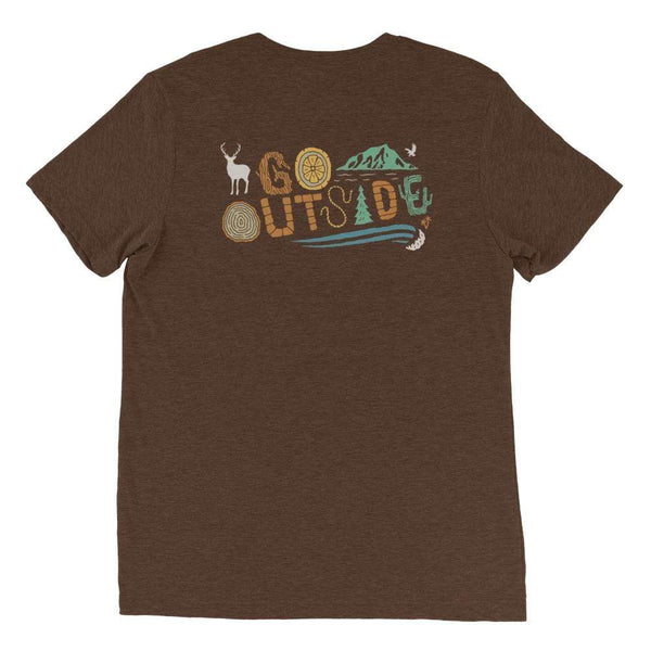 Go Outside Tee - Coastal Wilderness