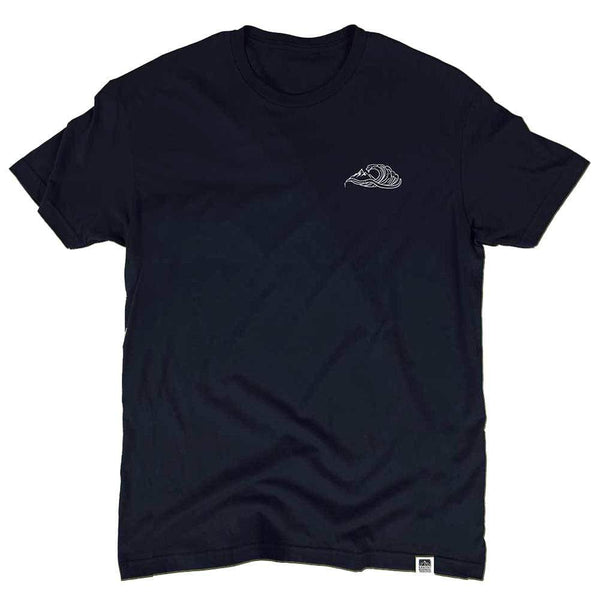 Wave Hemp Tee - Coastal Wilderness