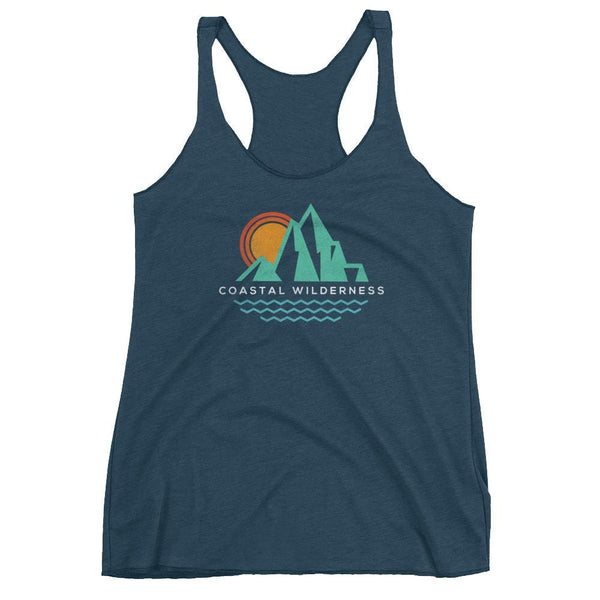 Retro Coast Racerback Tank - Coastal Wilderness