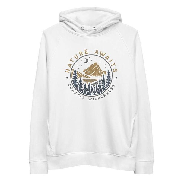 Nature Awaits Hoodie - Coastal Wilderness
