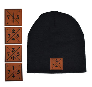 Ranger Cross Leather Beanie