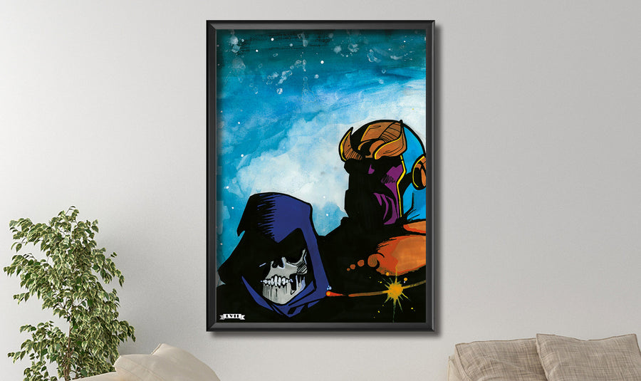 Lord Thanos Canvas