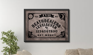 Ouija Board Canvas