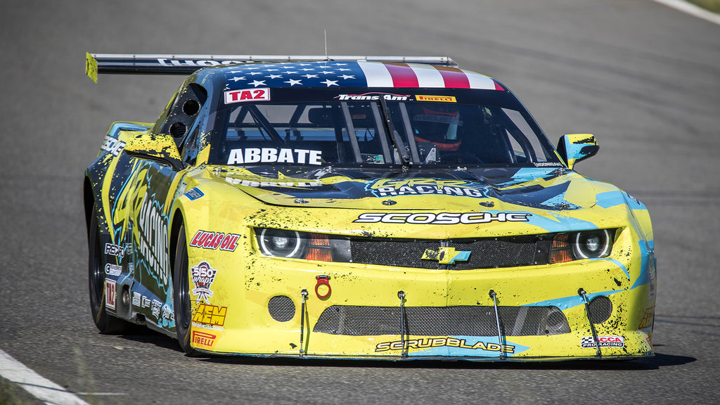SCRUBBLADE SUPPORTS GRR RACING IN TRANS AM SERIES!