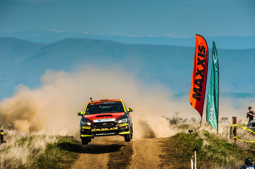 Seehorn Rally Team Scores 1st Win of the Season at Oregon Trail Rally