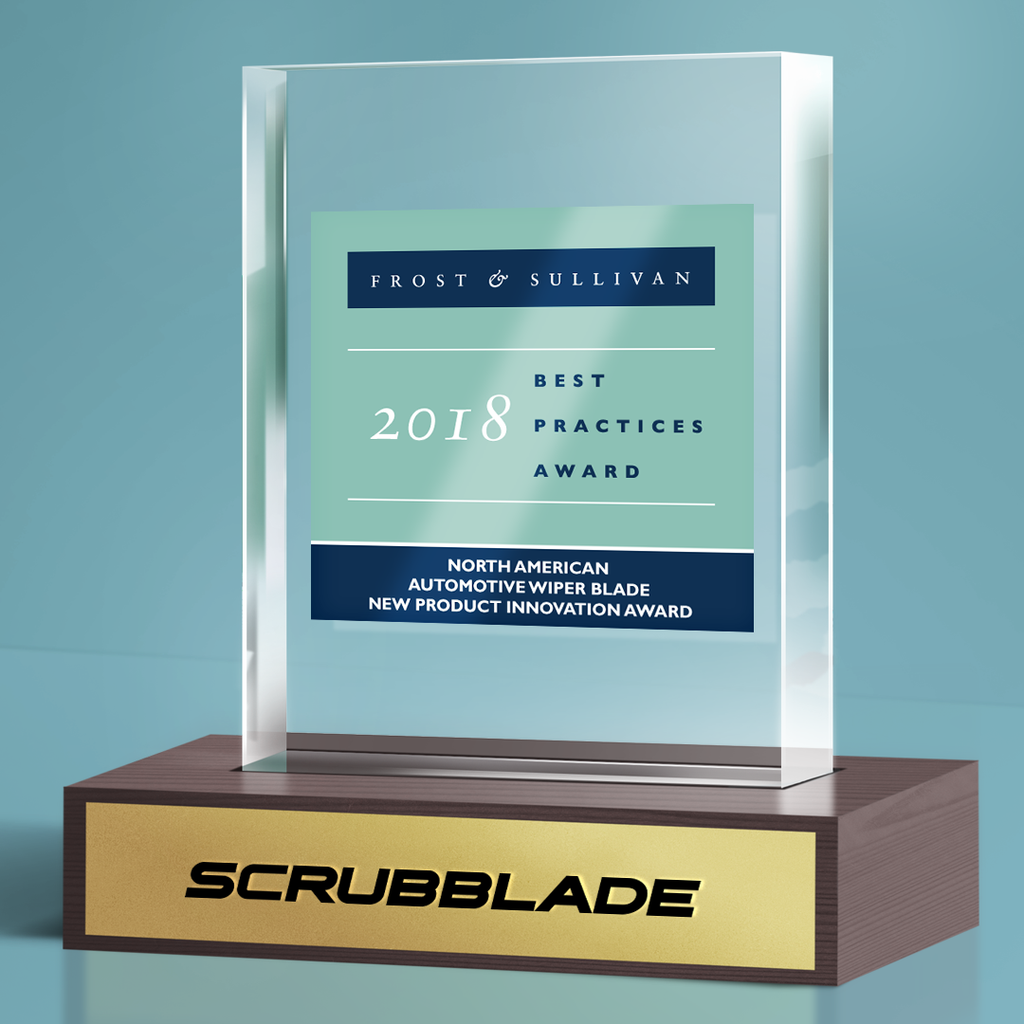 SCRUBBLADE EARNS FROST & SULLIVAN'S 2018 NEW PRODUCT INNOVATION AWARD FOR LEADING INDUSTRY WITH SUPERIORITY