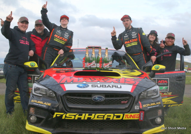 Seehorn Rally Team Conquers Oregon Trail Rally