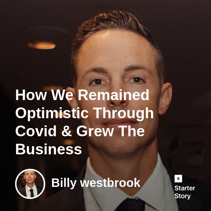How we remained optimistic through Covid