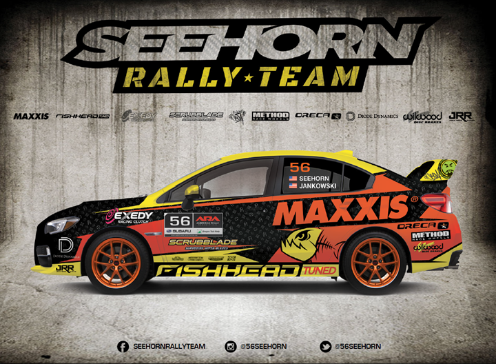 Seehorn Rally Team to Challenge for ARA Championship