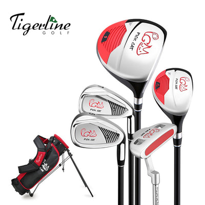Tigerline Golf Pick Cat Jr. Golf Set with Bag