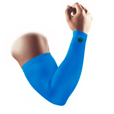 High Compression Arm Sleeves Pair Blue