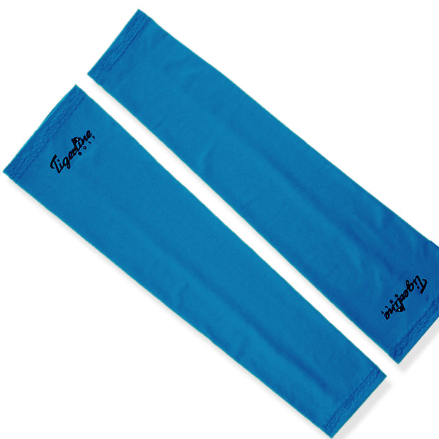 New & Improved High Compression Arm Sleeves Pair Blue
