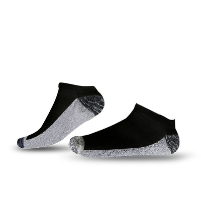 Tour Athletic Low Cut Ankle Socks Black