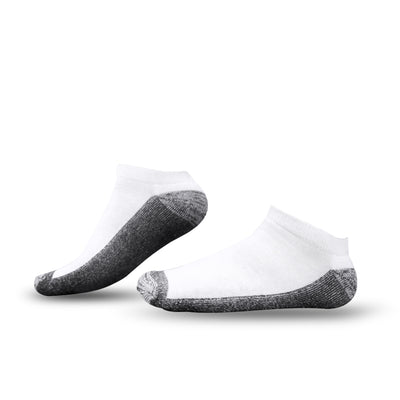 Tour Athletic Low Cut Ankle Socks White