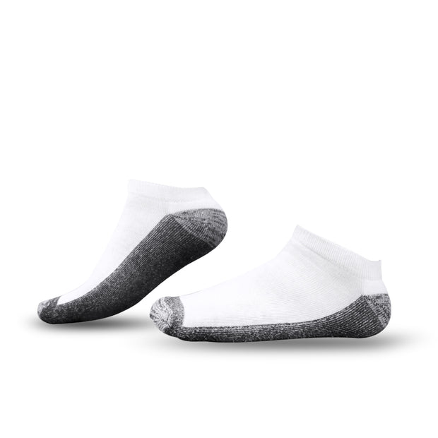 [Value Pack] Tour Athletic Low Cut Ankle Socks White