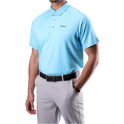 Mens Soft Essential Polo Blue