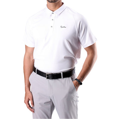 Mens Soft Essential Polo White