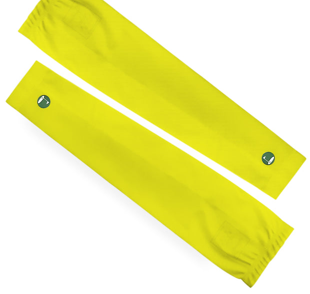 High Compression Arm Sleeves Pair Yellow