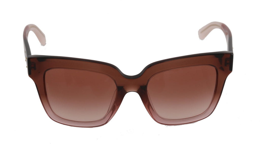 39f793a118b5 Women's Pink Square Transparent Sunglasses by Dolce & Gabbana – Best ...