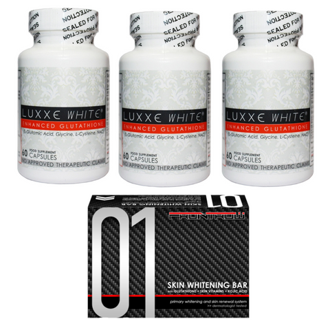 Luxxe White Trio Pack