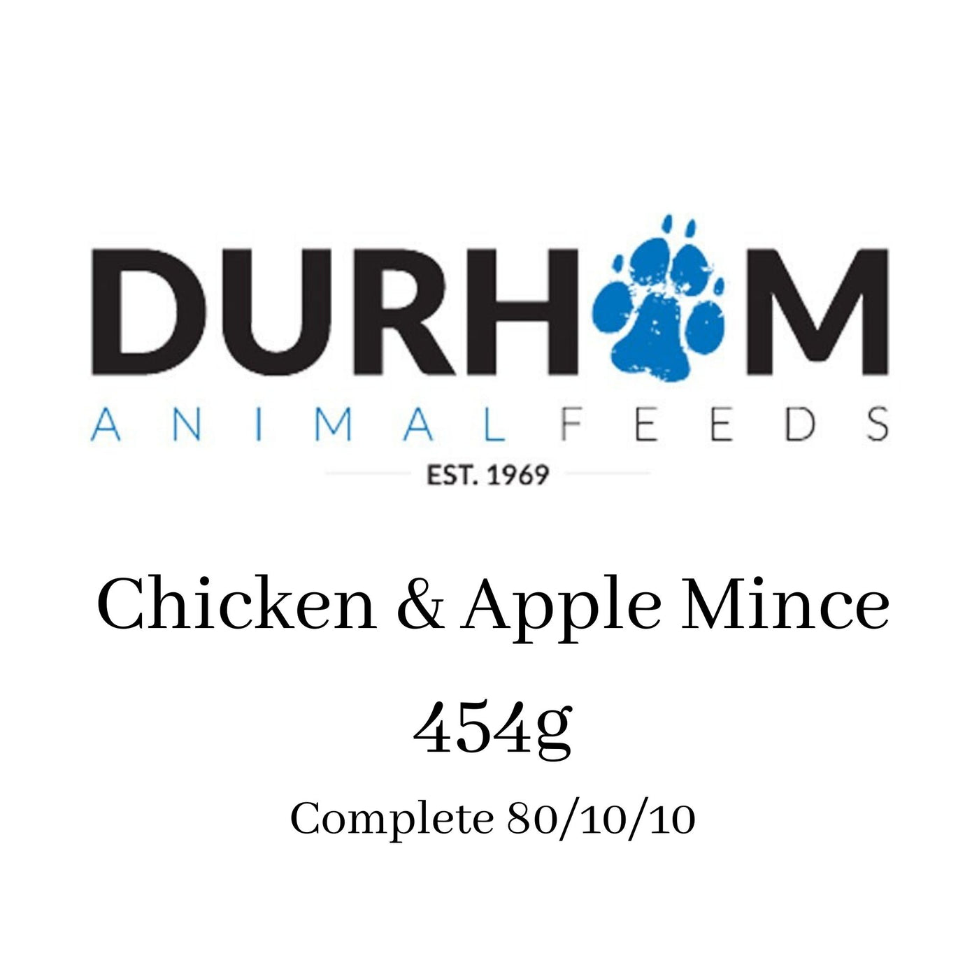 DAF - Chicken & Apple Mince 454g