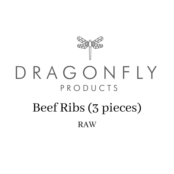 Beef Ribs (3 pieces) - RAW