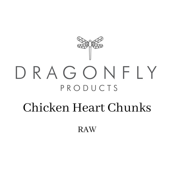 Chicken Heart Chunks (1kg) - RAW