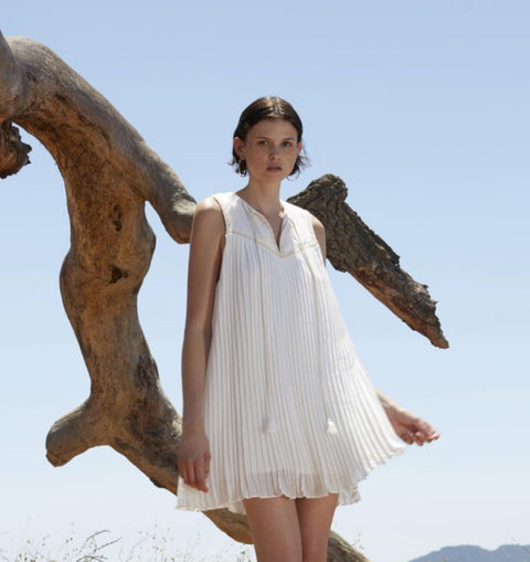 Sonnet Ivory Mini Dress