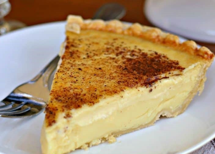 Hawaiian Custard Pie