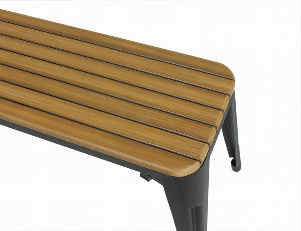 Good Form French Straight Leg Bench [FKC003NATURAL]