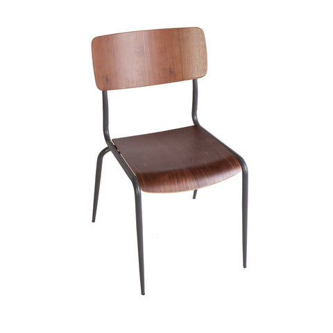 Hummel Side Chair [FOC58750WALNUT]