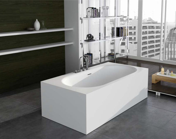 Controlbrand True Solid Surface Soaking Tub - Zenith Matte [BW8156MW]